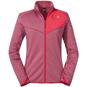 Schöffel Houston1 Fleece Jacket Women, red moscato